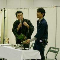 特別イベント公開デモ「桂 雀々師匠x平松浩二」1(第35回雅風展)