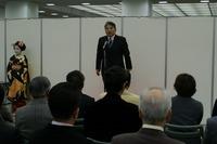 表彰式 主催者の挨拶 京都新聞社COM 小中邦彦氏(第35回雅風展)