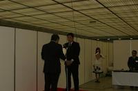 表彰式 内閣総理大臣賞表彰 山村雅哉氏(第35回雅風展)