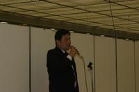 表彰式 内閣総理大臣賞受賞者 山村雅哉氏(第35回雅風展)